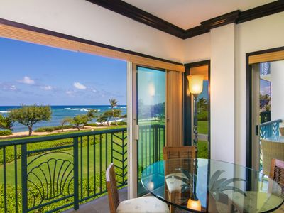 Photo for Luxury Oceanfront Condo:  Enjoy Tranquil Sounds of the Ocean in Every Room!