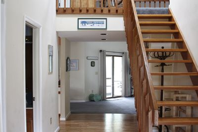 Spacious entryway with lots of natural light!