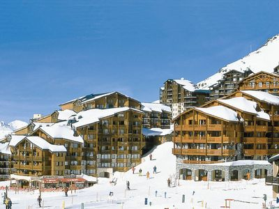 Photo for 2 bedroom Apartment, sleeps 6 in Val Thorens with WiFi