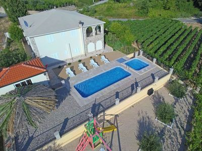 Photo for Villa With Heated swimming Pool And Jacuzzi In The Oasis Of Peace And Quiet