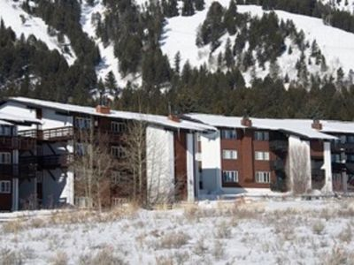 Photo for Mountain Side 2 Bedroom Condo At Jackson Hole Mountain Resort , Teton Village