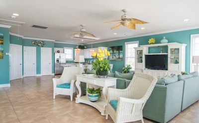 Photo for Breathtaking, 6 bedroom beach house just a short walk to the beach!