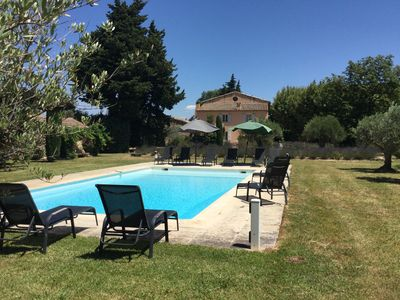 Photo for CHARMING ESTATE with private heated pool  in Provence -   ISLE SUR LA SORGUE A