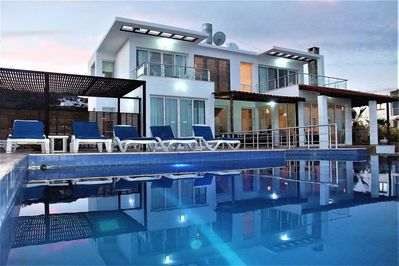 Ocean view villa with private pool