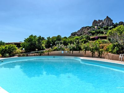 Photo for Mediterranean Villetta Luisa with Wi-Fi, Garden, Terraces & Pool; Parking Available