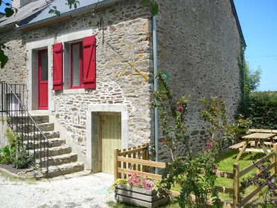 Photo for house near the river Rance, St Malo and Dinard