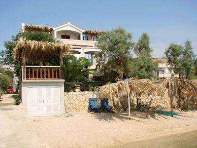 Photo for One bedroom apartment near beach Vidalići, Pag (A-6359-c)