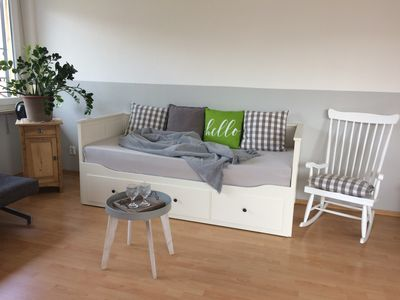 Photo for 2-room city apartment on the park, central yet quiet & in the countryside