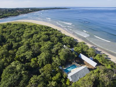 Photo for Beachfront House, Pool, Yoga lounge Amidst a 70 Acre Forest