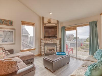 Photo for Gorgeous 4-Bedroom with King Suite, Game Room, Steps to Pacific City Beach!