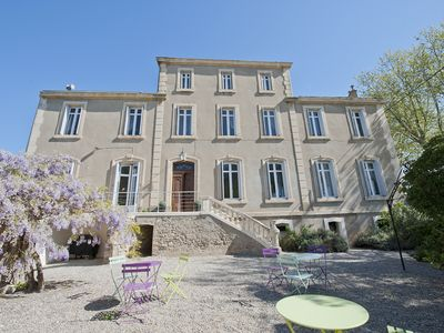 Photo for Large Holiday Rental South Of France Sleeps 22+ Heated Pool Garden Beaches Near