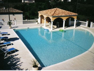 Photo for Gite close to Vallon Pont d'Arc with swimming pool