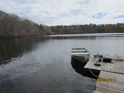 Photo for A Slice of Heaven on a Pond Near Downtown Falmouth, Beaches, Mashpee Commons