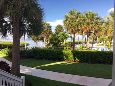 Photo for 2 Large Bedrooms and 2.5 bath Oceanfront/OceanVIEWS- DOCK Anglers Reef Islamorad