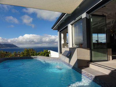 Photo for Luxury-Vacationhouse with: Pool, Panoramic sea views, in the South of Cape Town