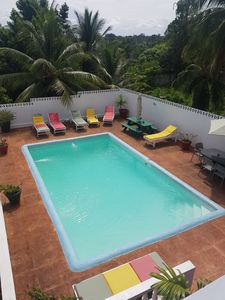Photo for Pimento Apartment - Lovely pool. Wi-Fi, Cable TV Close to Ochi Rios and Beaches.