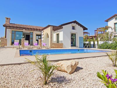Photo for Artemisia Villa - Beautiful One Storey Detached Villa with Private Pool and just 300 meters from the Sea ! - Free WiFi