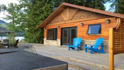 Photo for Waterfront Cabin For Rent - Eagle Bay - Shuswap Lake