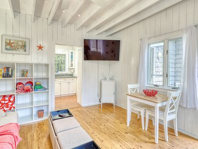 Photo for Beachy apartment in the heart of Ocean Bay Park - dogs welcome!