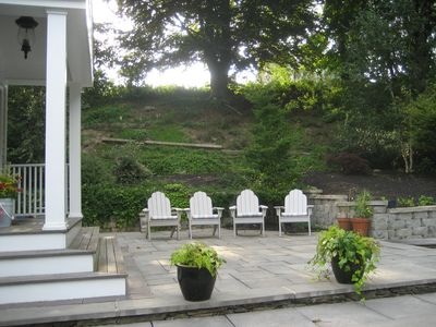 Photo for Elegant home, private setting.  Near Ft Adams, harbor, yacht clubs, town