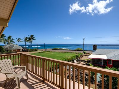 Photo for BEACH STYLE HOME in the HEART OF POIPU -  right across from the PACIFIC OCEAN!