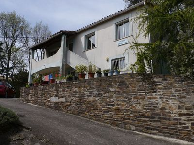 Photo for Spacious villa overlooking valley and mountains, close to spa town.