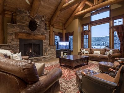 Photo for Private Luxury Custom Home | Gated Community | Walk/Ski to Slopes | Sleeps 19