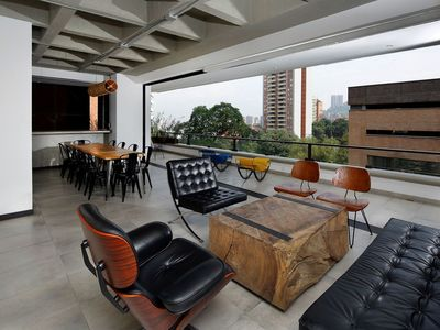 Photo for Med005 - Luxurious apartment with great view in Medellin