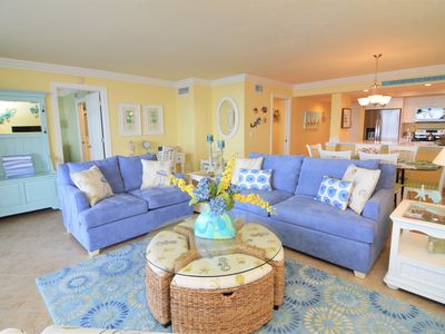 Photo for Beach steps away, Family-friendly resort close to shopping & attractions
