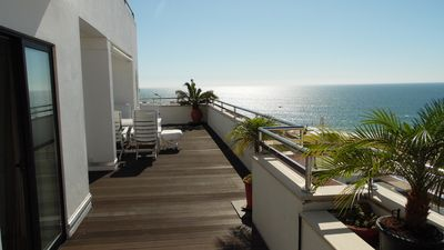 Photo for APARTMENT DOROTHEA WITH DREAMY SEA VIEW CENTER CENTER - 200m FROM THE BEACH