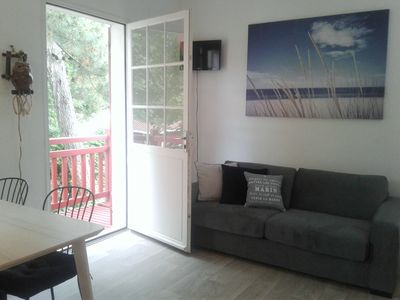 Photo for Arcachon, plage Pereire Coquet Studio for 4 people, with balcony