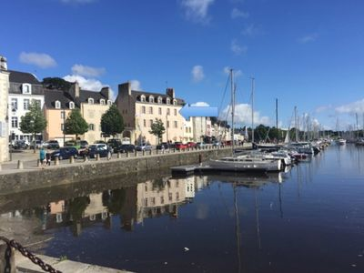 Photo for Apartment T3 of 72 m2 on the port of Vannes