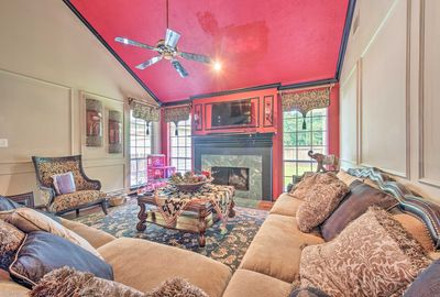 Stay just north of Houston at this 3-bedroom, 2.5-bathroom vacation rental!
