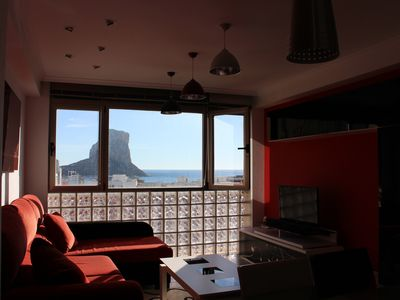 Photo for Apartment with sea views near the beach in Calpe