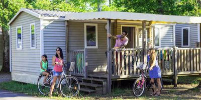 Photo for Camping La Pointe **** - 3-room mobile home 4/5 people