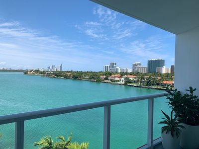 Photo for Beautiful Bay Front Views for Beach Island Living