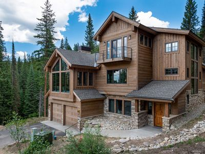 Photo for FLEXIBLE CANCELLATION | Luxury Awaits | Ski In / Ski Out Your Backdoor | Hot Tub Nestled in Nature