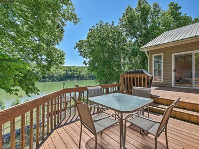 Photo for NEW! Mountain View Home w/ White River Waterfront!