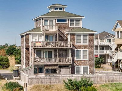 Photo for Oceanfront Hatteras Escape-Elevator, Pool, Hot Tub, Game Rm, Dog-Friendly, View