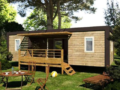 Photo for Camping Les Bruyeres *** - Mobile home Alizé 3 Rooms 4/6 People