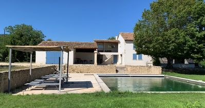 Photo for Renovated farmhouse in the Luberon