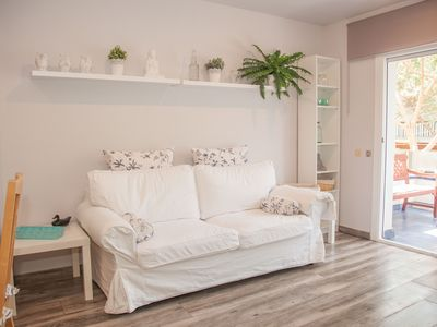 Photo for Beautiful apartment in a quiet area a few meters from the center and the beach
