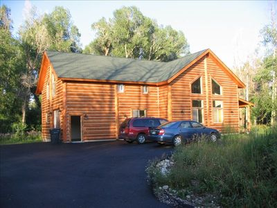 Photo for Great Location Year Round Vacation Cabin. Ski, Hike, or Shop!
