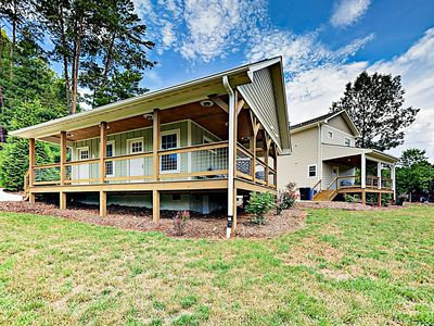 Photo for Newly Built 2-Home Mountain Retreat w/ Firepits, Minutes to Town & Adventures