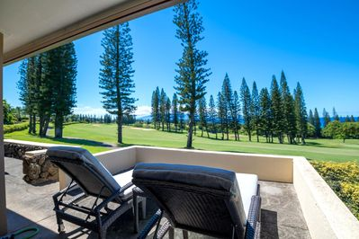Welcome to Kapalua Golf Villa 27P7-8 with wide span 11th hole views!