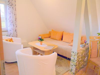Photo for Holiday apartment Freiburg for 2 - 4 persons with 1 bedroom - Penthouse holiday apartment