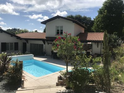 Photo for Beautiful new villa with heated pool