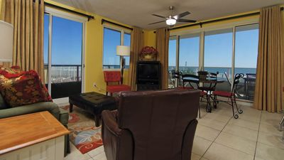 Enjoy panoramic views while you vacation in our home