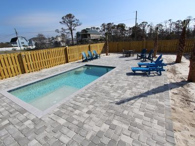 Photo for SECLUDED PRIVATE POOL BEACH HOME Private Beach Bay Access Pet Friendly