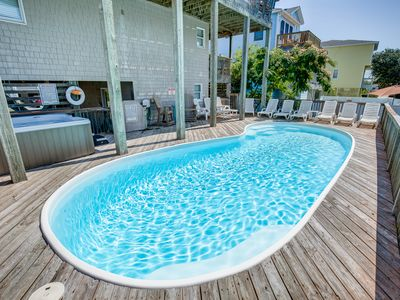 Photo for Sand Dollar | 233 ft from the beach | Private Pool, Hot Tub